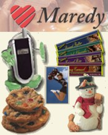 Picture of unique fundraising ideas from Maredy Fundraising catalog