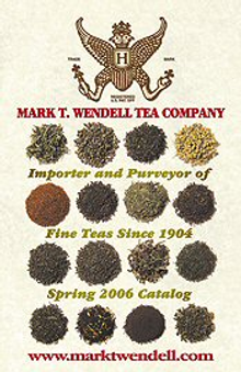 Picture of Gifts for tea drinkers from Mark T. Wendell Tea Company catalog