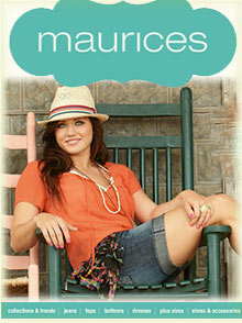 Picture of Maurices clothing from Maurices catalog