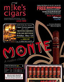 Picture of mikes cigars from Mike's Cigars catalog
