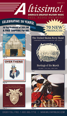 Picture of military music from Military Music by Altissimo catalog