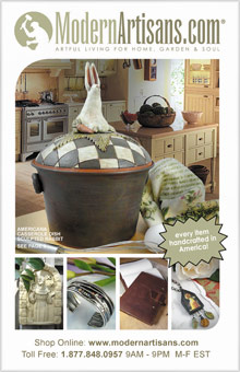 Picture of modern artisans from Modern Artisans catalog