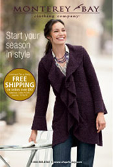 Picture of Monterey Bay catalog from Monterey Bay Clothing Company catalog