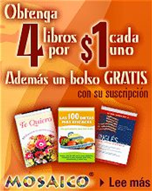 Picture of books in Spanish from Mosaico® catalog