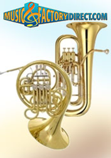 Picture of woodwind and brasswind from Music Factory Direct � Brass & Woodwinds catalog