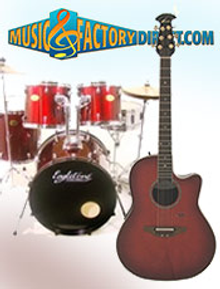 Picture of percussion musical instruments from Music Factory Direct � Percussion & Guitar catalog