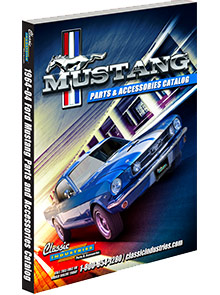Picture of mustang parts by classic industries catalog from Mustang Parts by Classic Industries
