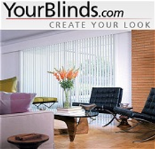 Picture of custom shades and blinds from Your Blinds catalog