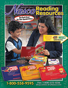 Picture of phonics for preschoolers from Nasco Reading Resources catalog