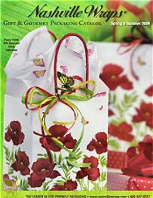 Picture of wholesale gift bags from Nashville Wraps catalog