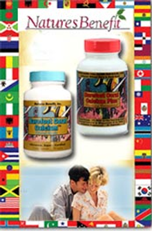 Picture of natural health remedy from Nature's Benefit catalog