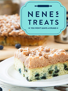 Picture of nenes treats catalog from Nene's Treats catalog