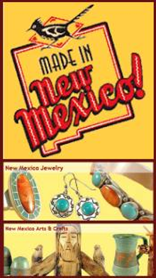 Picture of southwestern home decoration from Made in New Mexico catalog