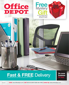 Picture of office depot catalog from Office Depot � catalog