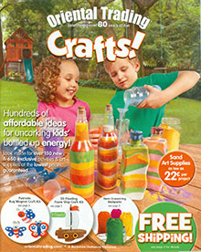 Picture of craft stores from Oriental Trading Company - Crafts catalog