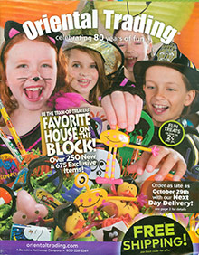 Picture of childrens party supplies and decorations from Oriental Trading Company - Party Supplies catalog