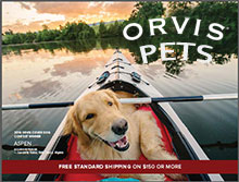 Picture of dog catalog from Orvis - Pets catalog