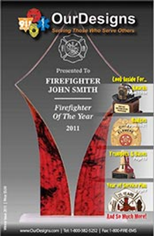 Picture of best firefighter gifts from Firefighter Gifts by Our Designs catalog
