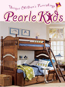 Picture of luxury baby cribs from Pearle Kids Furniture catalog