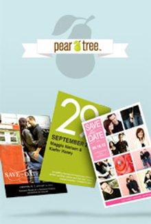 Picture of save the date wedding invitations from Save The Date - Pear Tree Greetings catalog