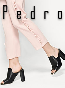 Picture of Pedro shoe catalog from Pedro catalog