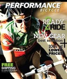 Picture of Performance bike catalog from Performance Bike catalog