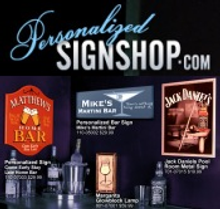 Picture of funny signs from Personalized Sign Shop catalog