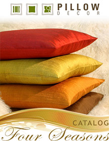 Picture of modern or contemporary throw pillows from Pillow Decor catalog