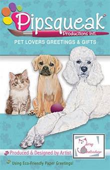 Picture of pictures of dog breeds from Pipsqueak Productions catalog
