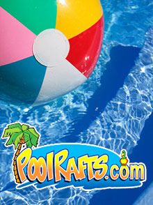 Picture of swimming pool floats from PoolRafts.com - Mega Pool Toy Store catalog