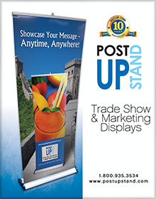 Picture of post up stand from Post-Up Stand  catalog