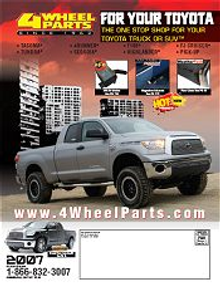 Picture of Toyota truck accessories from Toyota ® Trucks - Performance Products catalog