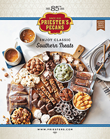 Picture of priesters pecans catalog from Priester's Pecans