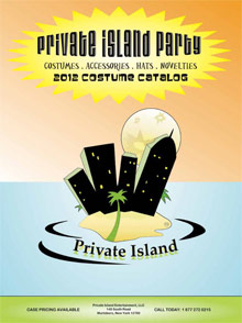 Picture of private island party from Private Island Party catalog
