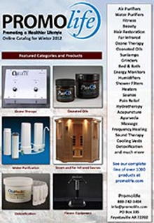 Picture of total wellness products from Promolife catalog
