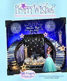 Picture of prom decor from Prom Wishes catalog