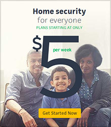 Picture of protect america home security from Protect America catalog