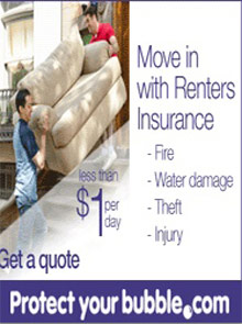 Picture of  from ProtectMyBubble Renters catalog