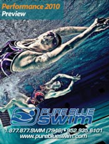 Picture of swimming flippers from PureBlueSwim.com catalog