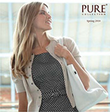 Picture of women's cashmere from Pure Collection catalog