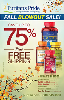 Picture of best vitamins for women from Puritan's Pride catalog