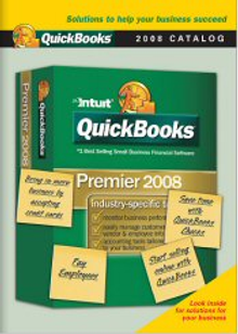 Picture of accounting software from QuickBooks Accounting Software catalog