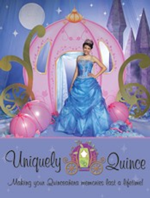 Picture of Quinceanera party favors from Uniquely Quince catalog