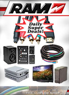 Picture of ram electronics from RAM Electronics catalog