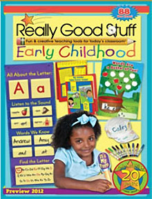 Picture of really good stuff for teachers from Really Good Stuff catalog