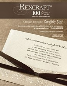 Picture of reasonable wedding invitations from Wedding Invitations by Rexcraft catalog