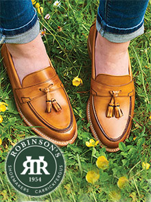 Picture of robinsons shoes catalog from Robinson's Shoes catalog