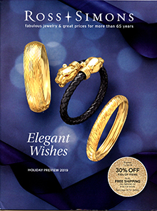 Picture of jewelry catalogs from Ross-Simons - Luxury Brand Holdings