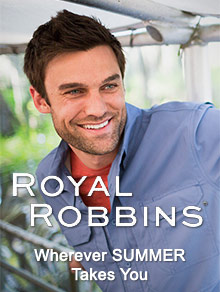Picture of royal robbins catalog from Royal Robbins catalog