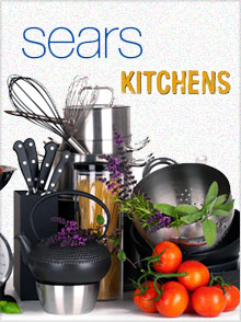Picture of Sears kitchen appliances from Sears Kitchen catalog